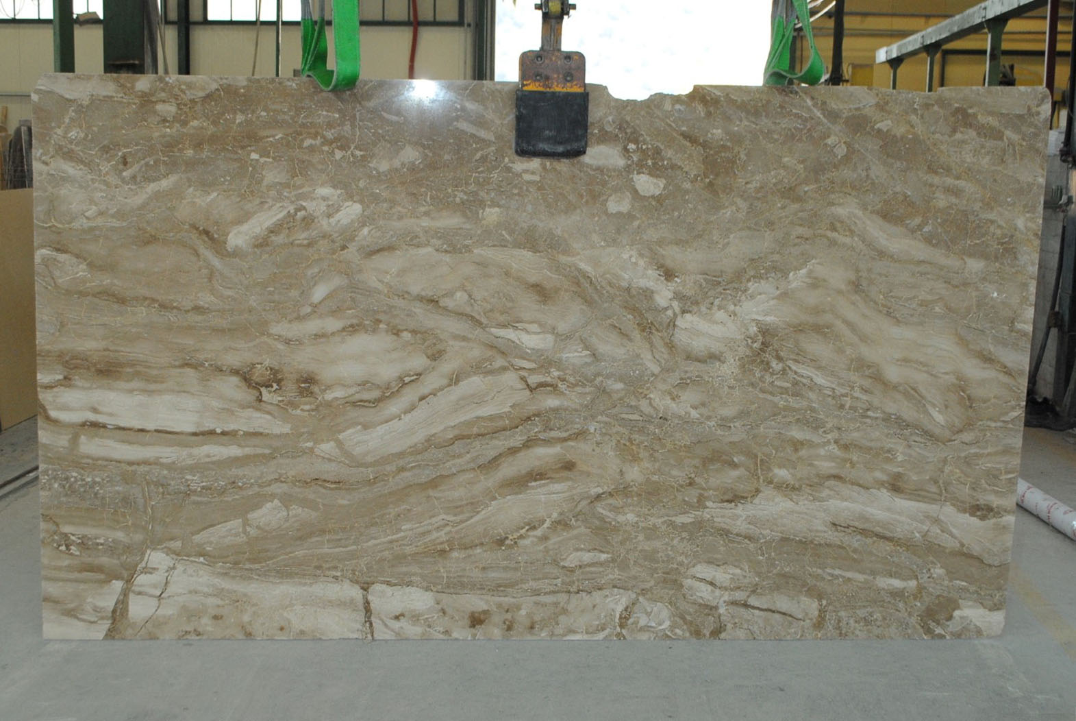 greek beige marble slab