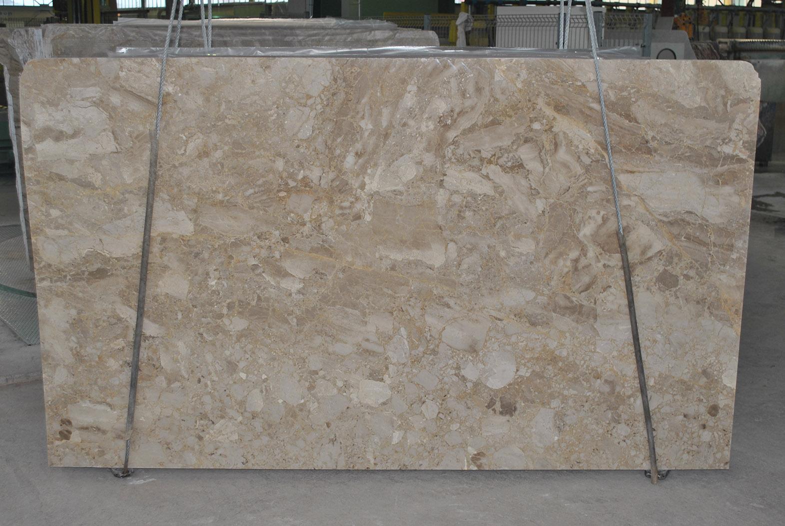 Karnis beige marble slab