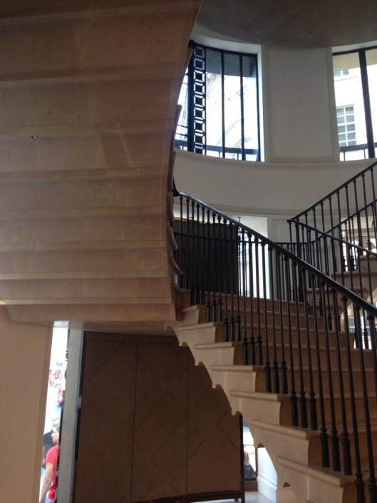 Corinthian Beige marlbe stairs
