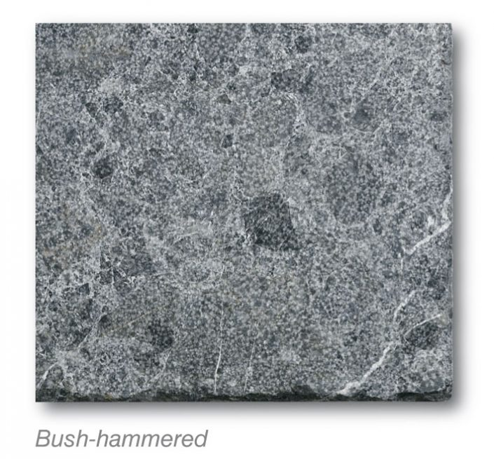 Argos Black Bush-hammered marmyk