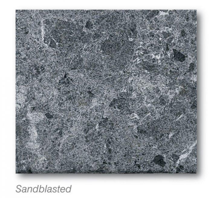 Argos Black Sandblasted Marmyk