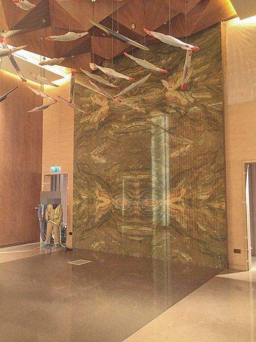 marbe cladding design - Marmyk Iliopoulos Pocahodas marble