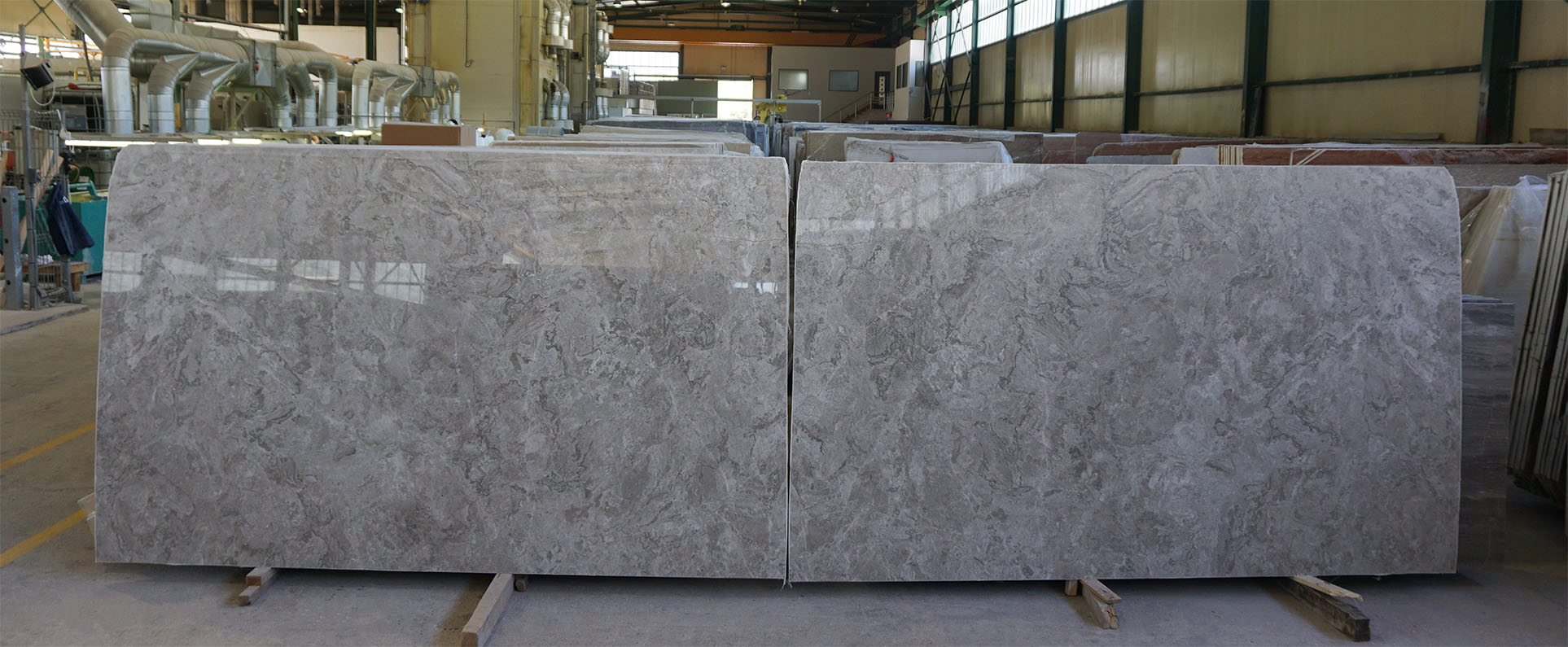 Palladion Light grey marble