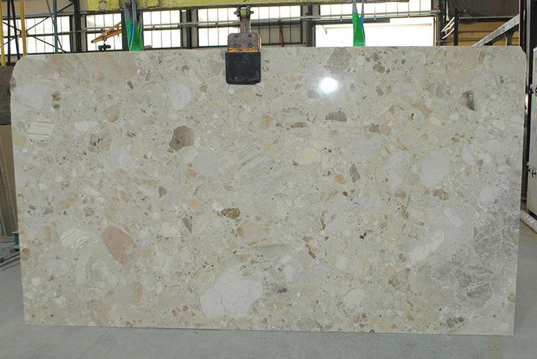 beige breccia marble