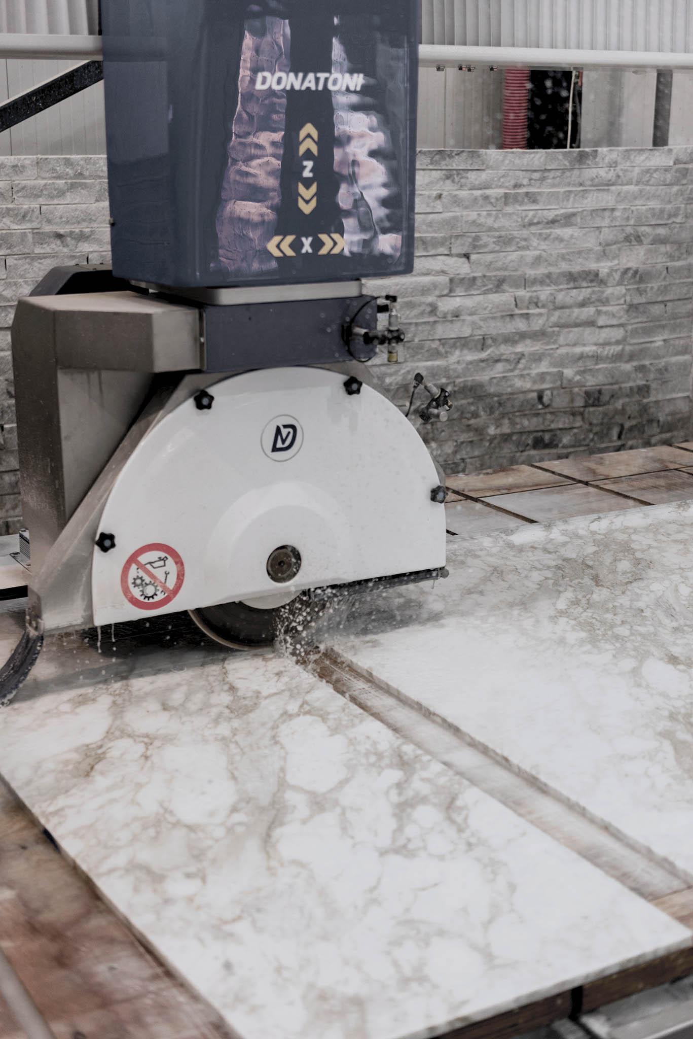 Marble Production - Donatoni Machine