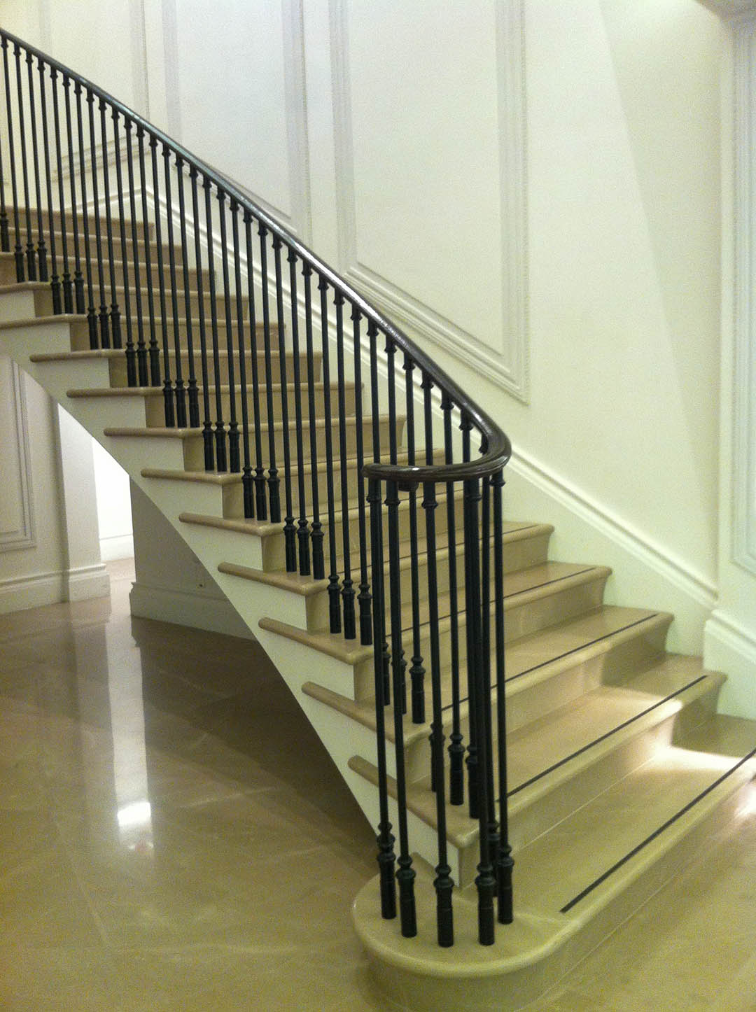 Burberry Beige stairs