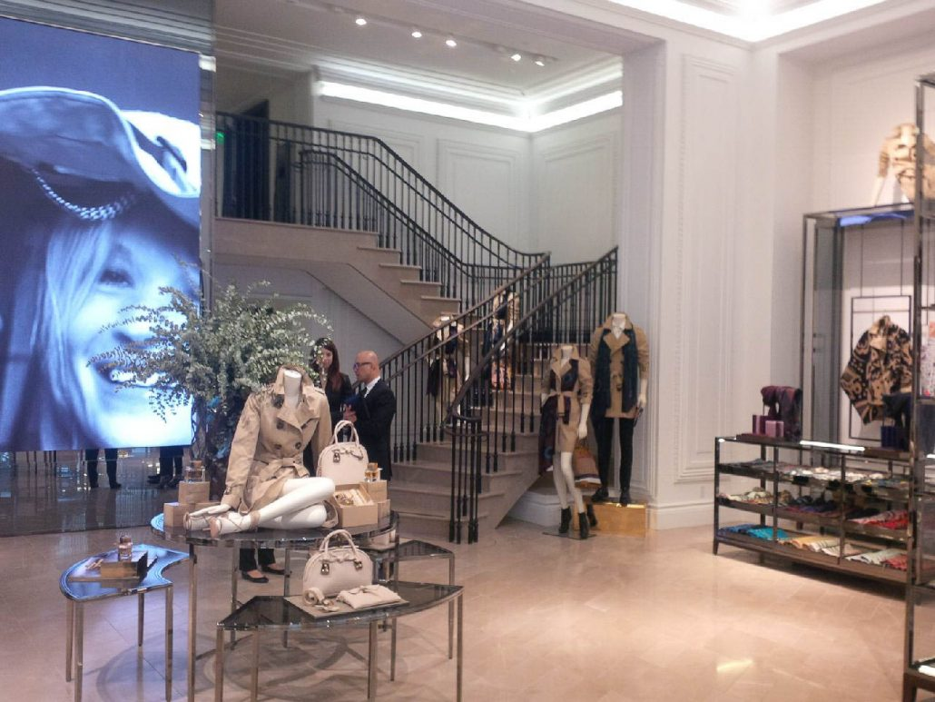 Burberry Boutique Stores All Over The World Marmyk
