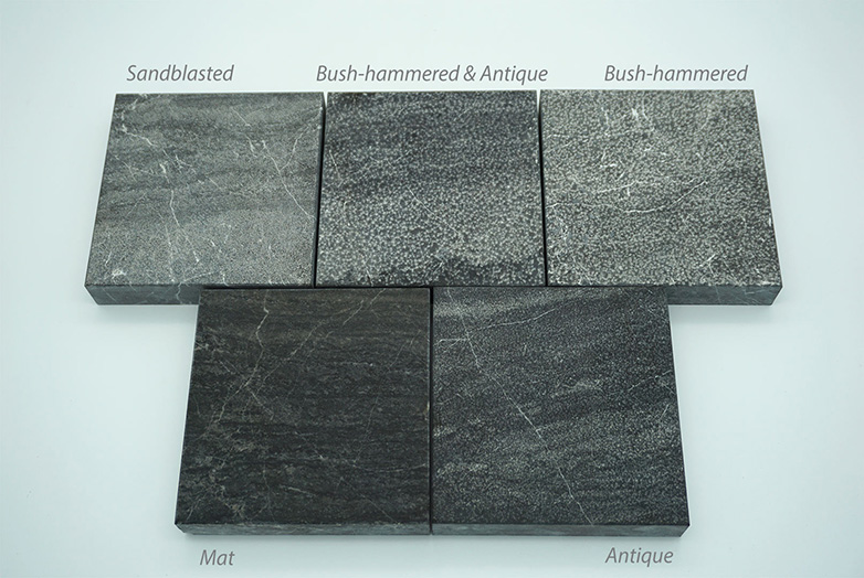 Black marlbe available finishes