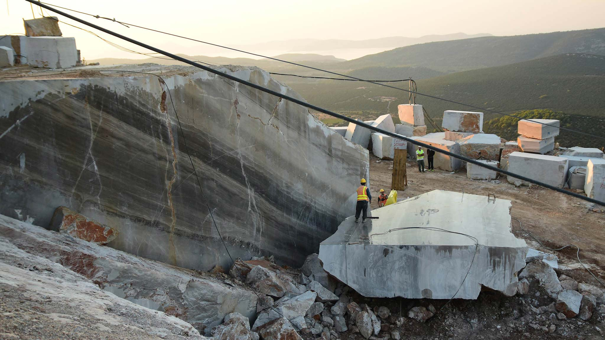 Didima marble quarry